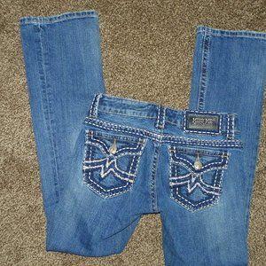 Miss Me Denim Jeans 27 Irene Boot